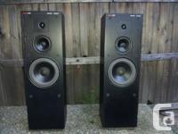 Circa 1989 3-Way Acoustic Suspension Cabinets (no