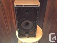 A pair of Celestion DL4. Excellent sound quite neutral
