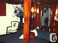 Vintage California Redwood 4 Poster Bedframe Purchased
