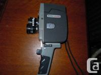 Functioning Sankyo movie electronic camera, quite