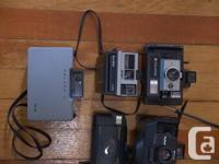 Selling some of my vintage cameras. A good selection of