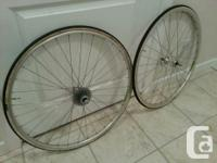 Vintage Campagnolo Wheelset in very nice condition-
