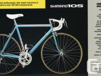 """SR500 Cannondale 61cm (24-1/2"""") frame. Fits rider"""