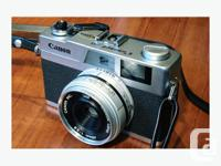 Product Information The Canon Canonet 28 is one of the