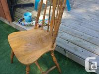 4 Vintage Chairs (100 years old) restored to original