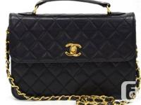 Beautiful vintage Chanel bag, very rare to find in