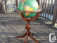 Beautiful, Between-the-Wars Floor Globe  Terrestrial