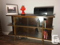 SELLING MY DISPLAY CABINET AS IM GETTING READY TO MOVE.