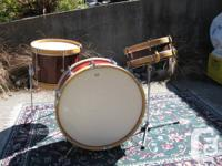 Two uncommon vintage Ludwig drums, for the enthusiast,