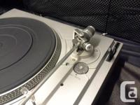 I have my Dual CS508 turntable for sale or trade. It is