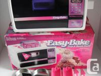 Easy Bake Oven and Snack Center with box and all