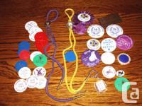 Vintage Elks Club Memorabilia,   string ties,