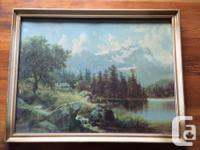 Two gold framed vintage / antique nature prints. One of