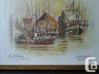 I am selling a  vintage group lot of 7 prints of