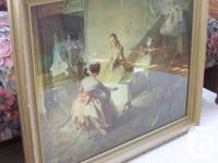 "By Louis Jambor 1884-1955, measures 29-1/2"" � 34""."