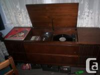 Mid 1960's Electrohome floor model record player with