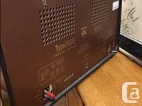 Large Vintage Grundig Radio Multi Band Tube Works