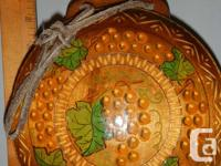 Antique Hand sculpted, etched and also created wood