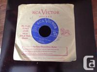 Vintage Hank Snow and Wilf Carter vintage 45's: - Hank