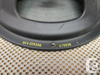 Heppner 12 inch Alnico speaker. Excellent condition. 30