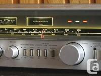 """- Quality receiver, amplifier, AM/FM tuner with """"Servo"""