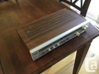 MODEL SR-2001...25 Watts Per Side...Has Phono Input For