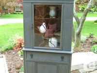This hutch has actually been coated in a customized