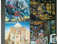 4 Awesome Maiden LPs for sale. All of them are in good,