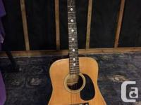 "1976 Kazuo Yairi Model YW-135 ""Vines"".  This is a well"
