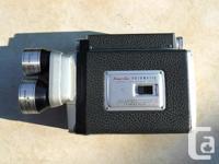 For sale is a vintage Kodak Cine Automatic Turret