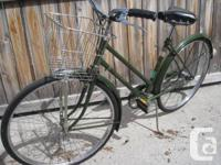 Smaller frame Raleigh in excellent condition.Rarer 3