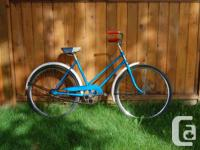 J.C. Higgins women cruiser bicycle from the late