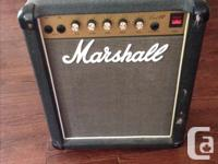 1985 Marshall Lead 12 Amp. First year with light colour