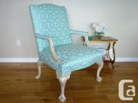 This comfy lolling chair came from the Empress Hotel