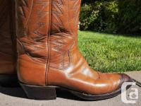 These authentic dress up or formal cowboy boots come