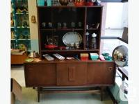 great retro buffet and hutch from the late 1960s 2