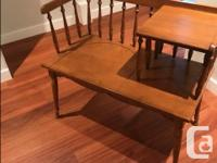 Own a unique piece of vintage furniture reminiscent of