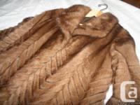 Gorgeous mink layer in best form. Regarding a