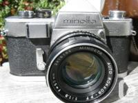 Selling a Classic Vintage Minolta SR-3 35mm SLR film