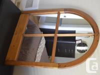 Antique Mirror. This mirror was made from an initial