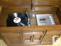 Very good Working old stereo.Turntable with new needle