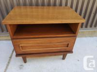Two very cool mid century modern night tables in great