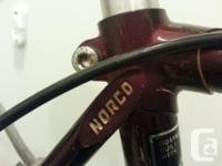 Vintage Norco Monterey 10 Speed road bike with upright