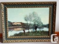 This is a vintage reproduction of the painting Ville