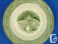 This great green dinnerware made by Royal USA is called
