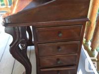 Vintage Ornate Davenport Desk Lovely Small Piece of