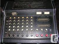 Yamaha 150II incorporated PA mixing board with 2