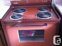 RETRO 1971 Philco Ford Electric Range. All Manuals and
