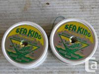 VINTAGE PRE STRETCHED SEA KING BRAIDED 45 lb. NYLON