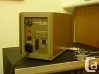 The Quad 50E is a single channel amplifier designed for, used for sale  Ontario